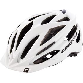 Cratoni Pacer Helmet white matt